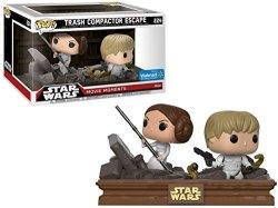 Funko Pop Exclusive Star Wars: Movie Moments - Luke Skywalker And Princess Leia Trash Compactor