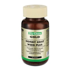 Gold Dis-chem Horny Goat Weed Plus 60 Tabs