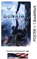 """WMG Dunkirk 2017 - Movie Poster - Size 24""""X36"""" - Glossy Photo Paper Harry Styles Tom Hardy"""