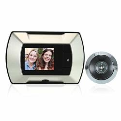 "2.4"" Tft Lcd Visual Monitor Door Peephole Wireless Viewer Camera Digital Electric Peephole Doorbell Monitor"