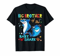 Big BrOther Of The Baby Shark Birthday Big BrOther Shark