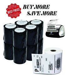 "GCC Gc. Dymo Compatible 1744907 - 4"" X 6"" Dymo 4XL Postage Shipping Labels 1 Roll - 220 Labels Per Roll 1 Pack"