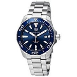 TAG Heuer Aquaracer Blue Dial Stainless Steel Men's Watch Item No. WAY201B.BA0927
