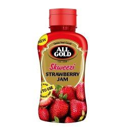 All Gold - Strawberry Skweezi Jam 460G
