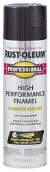 RUST-OLEUM 7579838 - 6 Pk High Performance Enamel Spray Paint Gloss Black