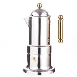 MyLifeUNIT Stovetop Espresso Maker - Moka Pot - 4 Cups 200 Ml