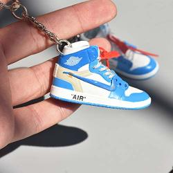 Fashion MINI Sneaker 3D Keychain Figure AJ1-20?1:6? With Box For Christmas Gift 1 Pieces