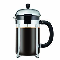 Bodum Chambord 12 Cup French Press Coffee Maker Chrome 1.5 L 51 Oz