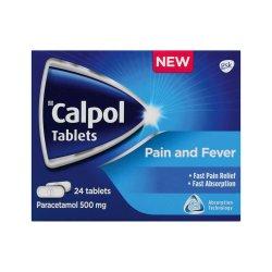 Calpol Adult Tablets 24S