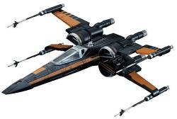 Bandai Hobby Star Wars 1 72 Poe's X-wing Fighter The Force Awakens Building Kit