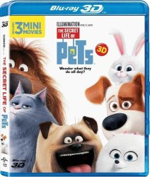 Universal Home Entertainment The Secret Life Of Pets - 3d Blu-ray Disc