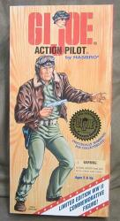 """12"""" Gi Joe Action Pilot Action Figure Wwii 50TH Anniversary Numbered Commemorative Edition White Hair Version"""