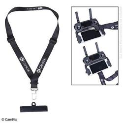 CamKix Lanyard And Remote Control Bracket For Dji Mavic Pro - Offers Extra Security And Comfort - Use Upwards Or Downwards - Nec
