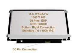 """Generic 11.6"""" HD Screen Compatible With Dell Inspiron 11-3162 Laptop Replacement LED Lcd"""