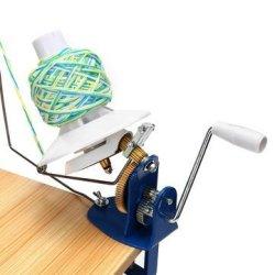 B/&S FEEL Hand Operated Wool Winder Holder for Yarn//fiber//wool//string Ball Winder
