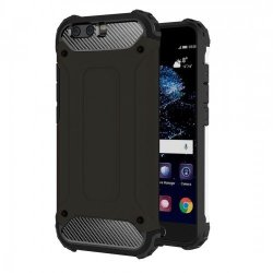 Tuff-Luv Armour Tough Case for Huawei P10 in Black