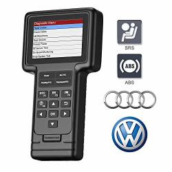 Thinkcar Vag Scanner OBD2 Scanner For Vw Audi Seat Skoda With 130+ Systems Car Diagnostic Tool Check Engine Light Srs Abs Code Reader With