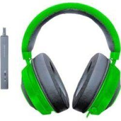 Razer Kraken Tournament Edition Over-ear Gaming Headphones Green
