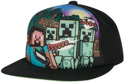 MINECRAFT - Steve Overworld Snap Back Hat