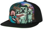 MINECRAFT - Steve Overworld Snap Back Hat