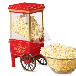 Nostalgic Oil Free Popcorn Machine
