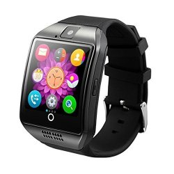 Dohomai Newest Q18 Smart Watch Bluetooth Smartwatch Phone With Camera Tf sim Card Slot For Android S