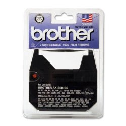 BROR9 Brother 1030 Correctable Ribbon For Daisy Wheel Typewriter 2 Ribbons