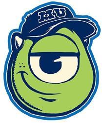 USA Disney Monster University Mike Magnet