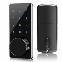 Smart Lock Manhaoya Smart Electronic Door Lock With Keyless Touchscreen Mechanical Keys Enabled Auto Lock Alarm Technology For Home Hotel Apartment And Office