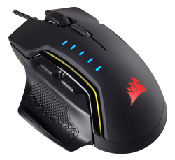 Corsair Glaive RGB Optical Gaming Mouse in Black