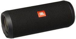 JBL Flip 3 Splashproof Portable Bluetooth Speaker in Black