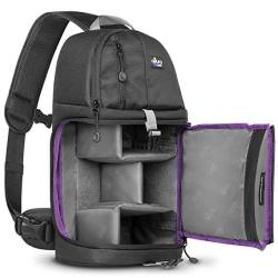 ALTURA Photo Camera Sling Backpack For Dslr And Mirrorless Cameras Canon Nikon Sony Pentax