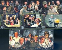Stargate SG-1 Season 5 2002 Rittenhouse Archives Complete Base Card Set Of 72 Tv