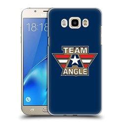 Head Case Designs Official Wwe Logotype Kurt Angle Hard Back Case For Samsung Galaxy J7 2016