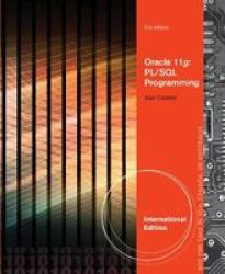 Oracle 11g - Pl sql Programming Paperback International Ed Of 2nd Revised Ed