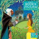 Usborne Book And Jigsaw: Beauty And The Beast
