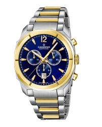 Candino Swiss Made Mens Stainless Steel Watch - Chrono Sports Collection
