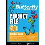 Butterfly A4 Pocket File 50 Page