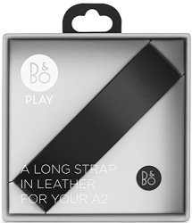 Bang & Olufsen B&o Play By Beoplay A2 Accessory Long Leather Strap Black