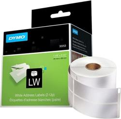 USA Dymo Lw Mailing Address Labels 2-UP For Labelwriter Label Printers 1 Roll Of 700