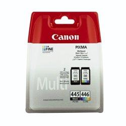 Canon - PG-445 CL-446 Inkjet Cartridge Multi-pack
