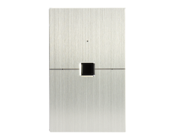 Smart Wifi Biometric Switch Rectangle Stainless Steel Finish