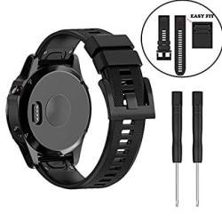 For Garmin Fenix 5S GARMIN Fenix 5S Plus Watch Band 20MM Width Soft Silicone Straps Wristbands Band Fenix 5S 5S Plus