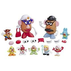 Mr Potato Head Disney pixar Toy Story 4 Woody's Tater Roundup Figure Toy For Kids Ages 2 & Up