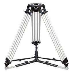 Proaim Mitchell Tripod Stand With Mid-level & Ground Spreader Heavy-duty Yet Lightweight Aluminum Made 2-STAGE Twin Legs Payload - 500KG 1100LB  