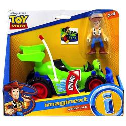 Woody & Rc Toy Story Imaginext Figures 2.5
