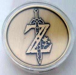 Zelda Breath Of The Wild Sheikah Eye Collectible Coin