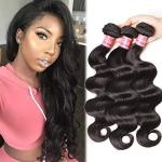 Nadula 8A Good Quality Virgin Peruvian Body Wave Hair Weave Pack Of 3 Unprocessed Remy Virgin Human Hair Extensions Natural Colo