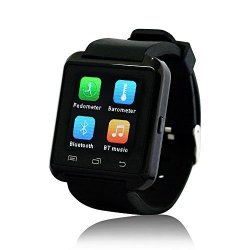 YUNTAB Mobile U8 Watch Smartwatch Bluetooth 3.0 Silicone Wristband For Apple Ios Smartphone Iphone 4