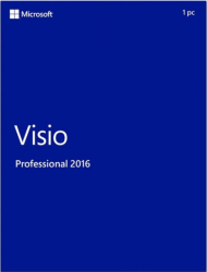 Microsoft Visio Professional 2016 Key Global